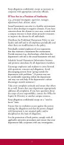 sexual harassment sexual harassment - Office for Equity and Diversity - Page 7