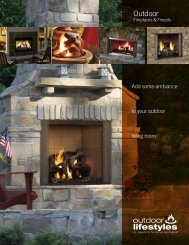 Outdoor Fireplaces & Firepits - Builder Concept Home 2012