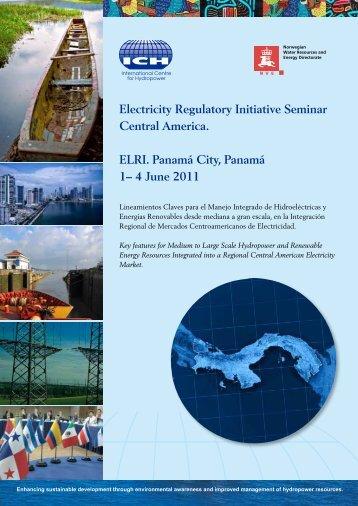 Electricity Regulatory Initiative Seminar Central America. ELRI ...