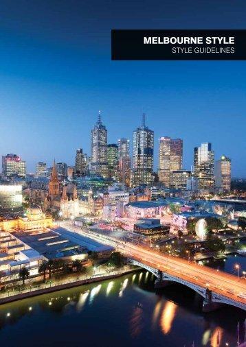 melbourne style - Destination Melbourne