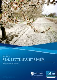 reAl estAte mArket review - Sorainen