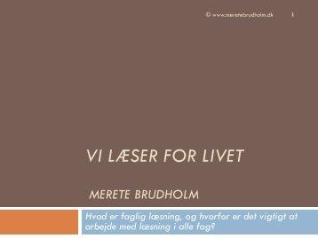 Merete Brudholm
