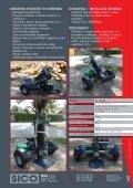 Cepilnik drv ROBUST R 13 B z bencinskim pogonom na enoosni ... - Page 2