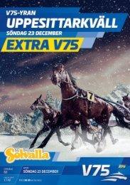 23 december - Solvalla