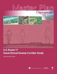 US Route 17 Great Dismal Swamp Corridor Study Master ... - VHB.com