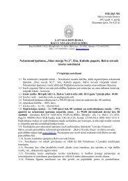 "Nekustamā īpašuma ""Sitas stacija Nr.2"", Sita, Kubulu pagasts ... - Balvi"