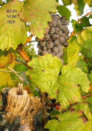 Gesamter Katalog 2006 - zur Homepage Wein vom Hof - Dopplmair