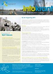Infokrant februari 2011 - Gemeente Herent