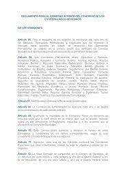 Reglamento para el Gobierno Interior del Congreso de los Estados ...