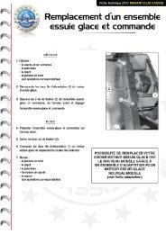 Remplacement essuie glace - Mehari 2 CV Club