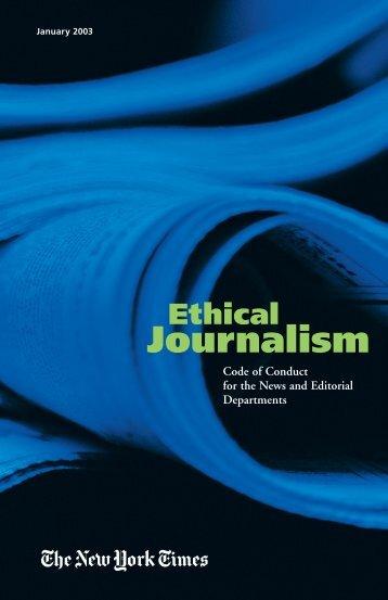 Journalism Ethical - Graines de Changement