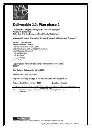 Deliverable 3.3: Plan phase 2 - ERSO - Swov