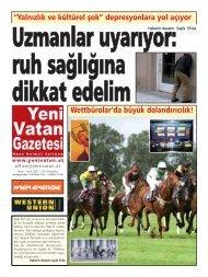 WettbrolarŁda byk dolandÿrÿcÿlÿk! - Yeni Vatan Gazetesi Online