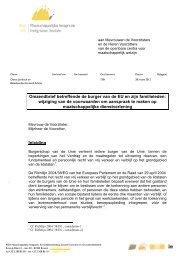Omzendbrief van 28/03/2012 van de POD MI - Medimmigrant