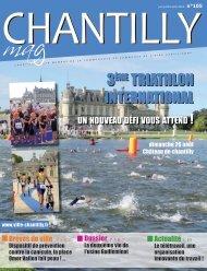 3ème TriaThlon inTernaTional - Ville de Chantilly
