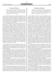 Curriculum - Diari Oficial de la Comunitat Valenciana