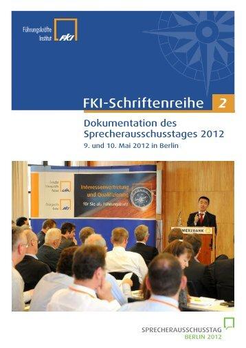 FKI-Schriftenreihe 2 - Das Führungskräfte Institut FKI