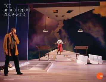 2009 - 2010 TCG Annual Report - Theatre Communications Group