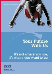 Your Future With Us - BDO