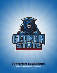 partner handbook - Georgia State University Athletics