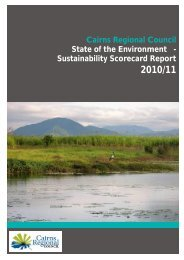 2010-2011 Report - Cairns Regional Council - Queensland ...