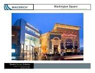 Washington Square Food Court Criteria Manual - Macerich