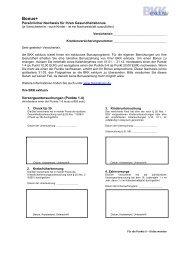 Bonusnachweis 2012 herunterladen - bei der BKK exklusiv