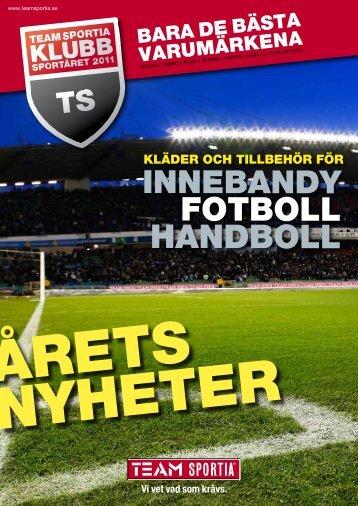 FOTBOLL HANDBOLL - Team Sportia Birsta