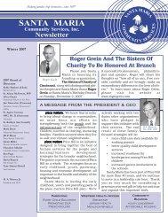 View the Winter 2007-08 Newsletter - Santa Maria Community ...