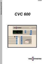 Betriebsanleitung CVC600 (BA 156, 3.5MB) - Viscotherm AG
