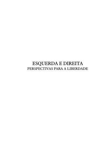 EsquErda E dirEita - Instituto Ludwig von Mises Brasil