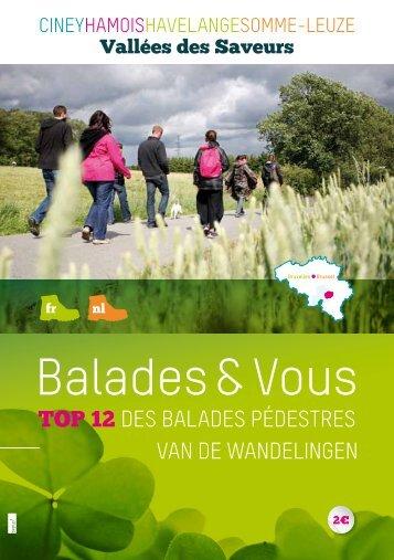 Balades & Vous - Vallées des Saveurs