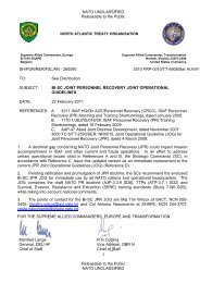 Cover letter_JPR JOG_ACT approved - European Defence Agency