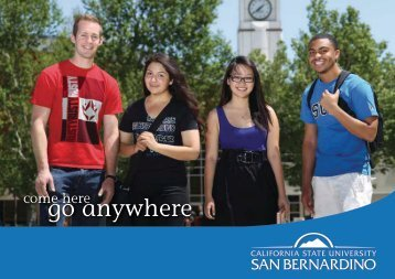 go anywhere - Admissions & Student Recruitment - California State ...
