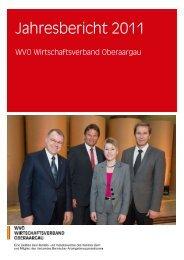 Jahresbericht 2011 - WVO
