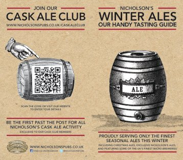WINter aLeS - Nicholson's Pubs