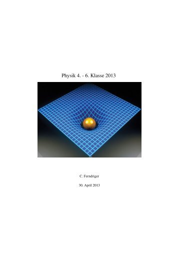 Physik 4. - 6. Klasse 2013
