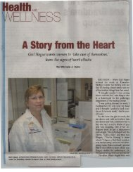A Story from the Heart - Riverview Medical Center