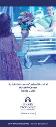 Visitor Guide - St. John Health System