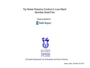 Tip Noise Passive Control in Low Mach Number Axial Fan