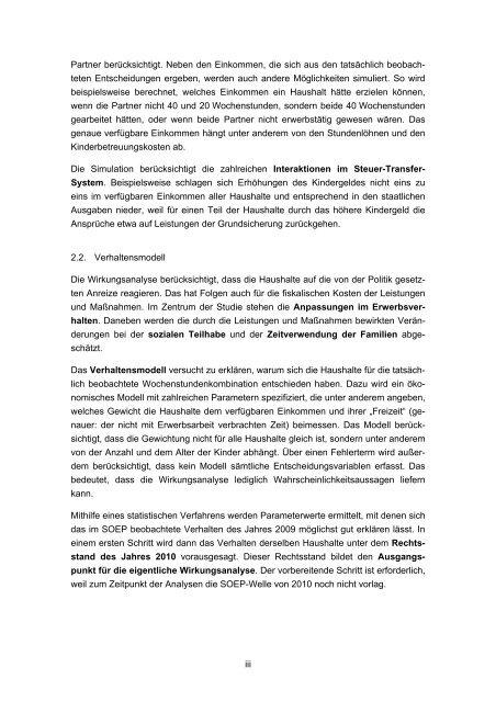 Bericht - Lehrstuhl für Volkswirtschaftslehre, insb ...