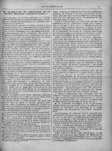 Décembre 1901 - Université François Rabelais