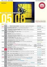 juni - Anhaltisches Theater Dessau