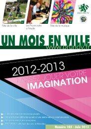 Numéro 88 - décembre 2010 Numéro 105 - Juin 2012 - Brunoy