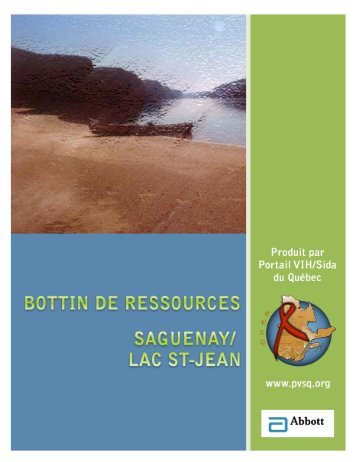 Saguenay/Lac St-Jean - Portail VIH / sida du Québec