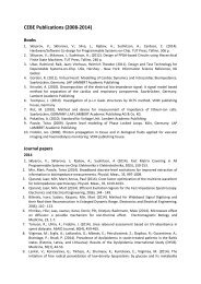 CEBE Publications (2008-2013)
