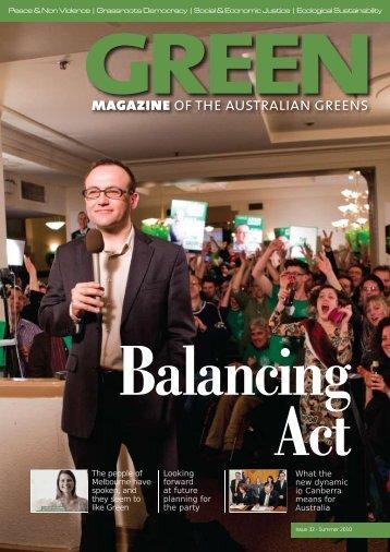 Download the PDF - Australian Greens