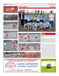 14 marzo 2012 - SOSSANO - SPORTquotidiano