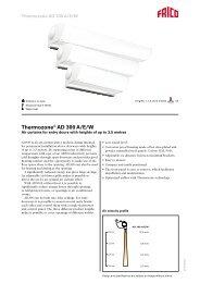 Thermozone® AD 300 A/E/W - tormax danmark a/s