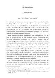 Ethik im Krankenhaus - Evangelische Krankenhausseelsorge in ...
